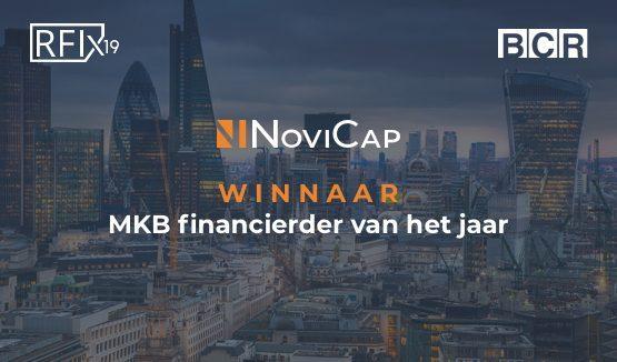 novicap mkb financierder van het jaar