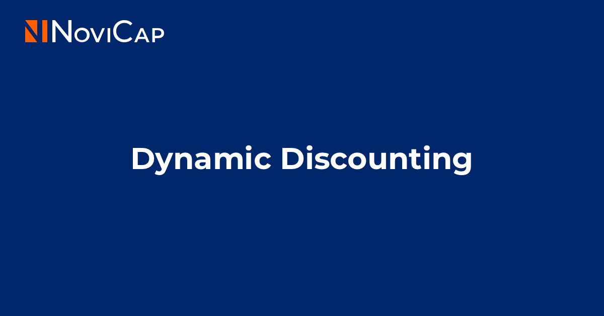 Dynamic Discounting